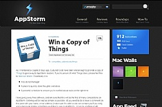 Appstorm web design inspiration