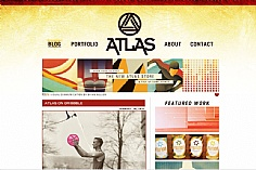 Atlas web design inspiration