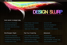 Design Slurp web design inspiration