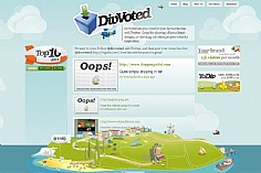 DivVoted (screenshot)