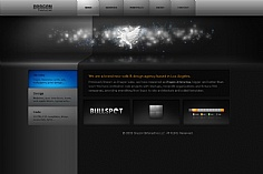 Dragon Interactive web design inspiration