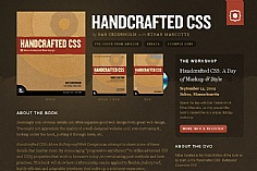 Handcrafted CSS (screenshot)