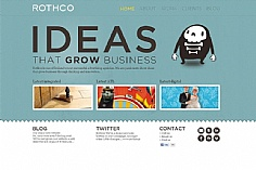 Rothco web design inspiration