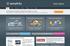 Syncplicity (screenshot)