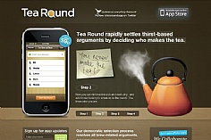 Tea Round App (screenshot)