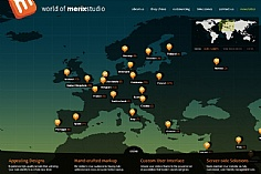 World of Merix Studio web design inspiration
